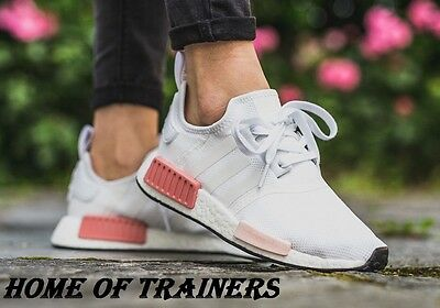 Nmd Pink By9952pti Runner Adidas Boost Icey R1 White Women's 4L5jAq3RcS