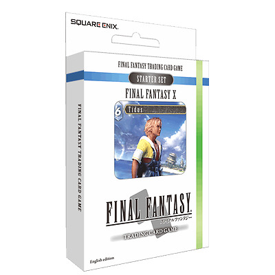 Final Fantasy TCG X 10 Starter Deck Wind and Water NEW Sealed In Stock