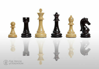 """The Candidates Series Chess Set - Pieces Only - 4.25"""" King - Woodtek"""