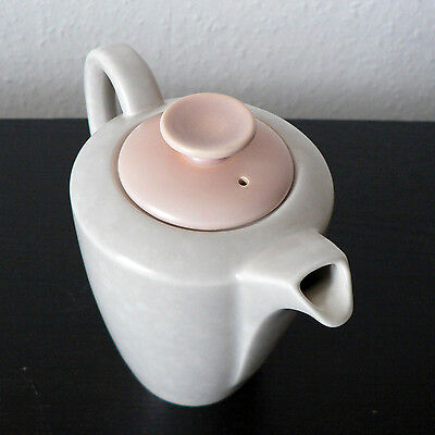 Poole Pottery Peach Bloom & Seagull Hot Milk Pot 3/4 Pint Twintone C97 Vintage
