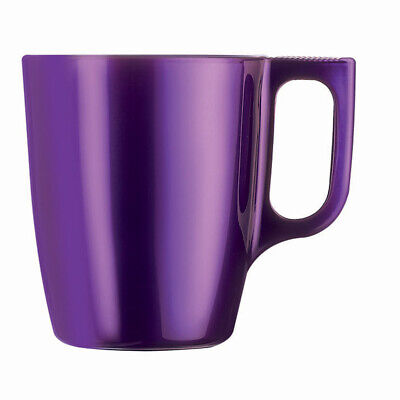03671 Luminarc Flashy - Kaffeebecher Tasse Hartglas Becher Blau 250 ml