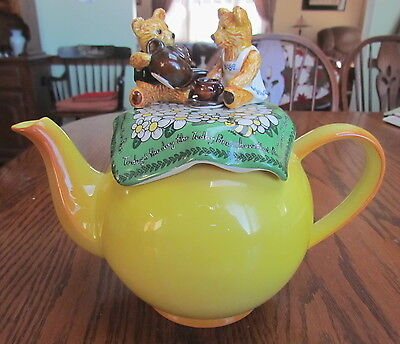 Teddy Bears Picnic teapot Cardew Design made in England  Todays the day