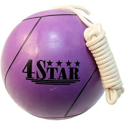 OFFICIAL TETHER BALL PURPLE ROPE INCLUDED Outdoor Sports Playground Tetherball
