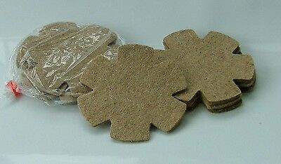 PRE-CUT JUTE NEST PAN FELTS x 12 for CANARIES BRITISH FINCHES