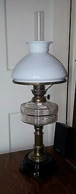 Antique Edwardian Oil Lamp