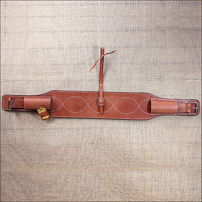 Hilason Western Tack Double Ply Skirting Leather Horse Cinch Flank Body Girth
