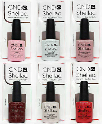 LIMITED - CND Gel Nail Polish LARGE size - Pick Any Color/Base/Top - Shellac