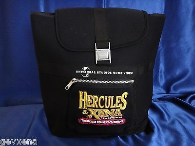 BEYOND RARE PROMOTIONAL Xena & Hercules Animated Movie Backpack - BRAND NEW