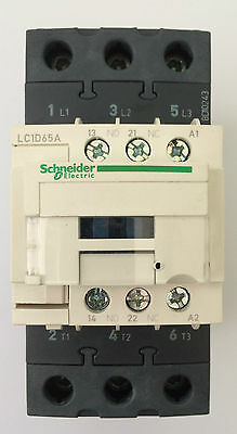 Telemecanique Schneider LC1D65A N7 65amp 3pole 415v Contactor TeSys 940906