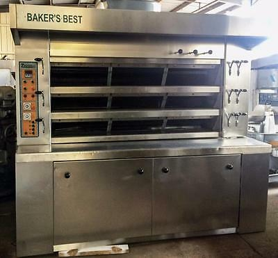 Zucchelli Forni Sct3-3C/11 3 Deck Cyclothermic Bakery Deck Gas Baking Oven