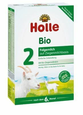 4 x HOLLE ORGANIC GOAT MILK - Stage 2 - BABY FORMULA 4 x 400 g  FROM GERMANY !