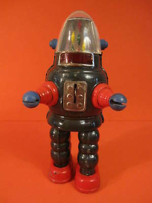 All Original Yonezawa Moon Robot Ribbon Head Robby 1960 Space Toy