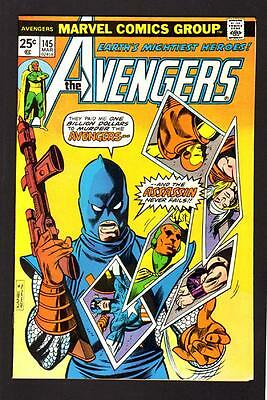 Avengers 145 9.2 Nm 1976 Marvel White Paper High Grade