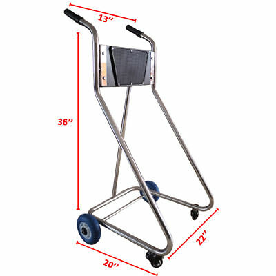 Outboard Motor Dolly Cart Boat Engine stand Outboard storage cart Stainless