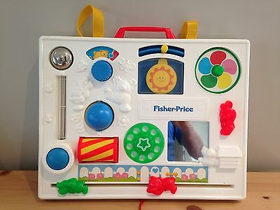 Vintage 1988 Fisher Price Activity Centre *Check out the condition - Amazing!