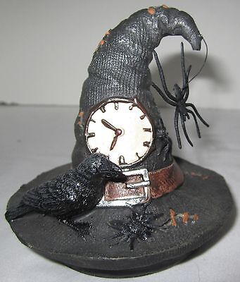 Yankee Candle Halloween Spellbound Witch's Witches Hat Spider Jar Topper 1321853