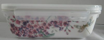 Lenox Butterfly Meadow Rectangular Serve and Store with Locking Lid # 833958