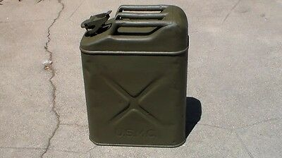 US RARE WW2 USMC Marine Corps 1943 Dated CONCO Jerry Can Gas Can Used Condition