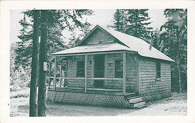 Parlin Dam Camps, Big Woods, Jackman Station, ME. G.W. Verrill Photo. Circa 1930