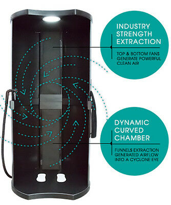 Tan Easy Tan Fresh Air Screen Enclosure Spray Booth Professional Salon