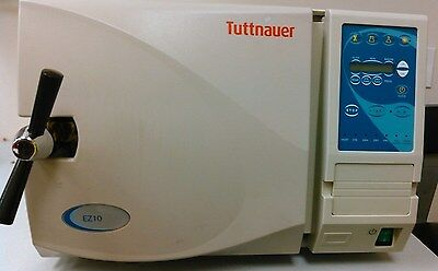 Tuttnauer Ez10 Automatic Autoclave Sterilizer Low Hours Excellent Condition