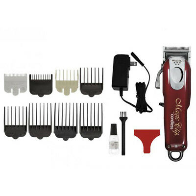Wahl 5 Star Cordless Magic Clip Clipper Trimmer Barber Hair Beard