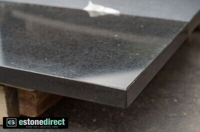 Granite Hearth - Black Polished 1500 x 400 x 40mm