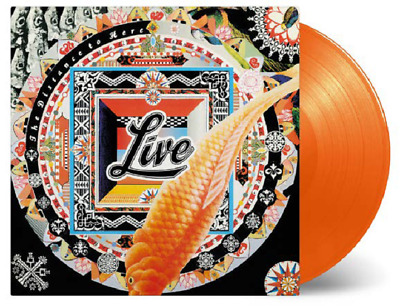 Live The Distance To Here limited numbered 180gm ORANGE vinyl LP NEW/SEALED