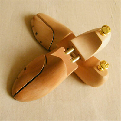 Adjustable Men Women Cedar Wood Shoe Tree Sharper Keeper Stretcher EU Size 35-44
