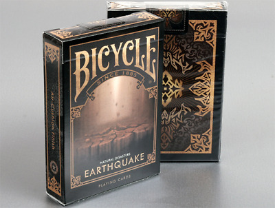 """Bicycle Natural Disasters """"Earthquake"""" Playing Cards by Collectable Playing Card"""