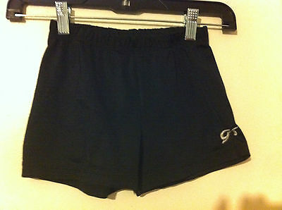 Womens GK Dance Shorts Black Size AS Adult Small EUC!!!