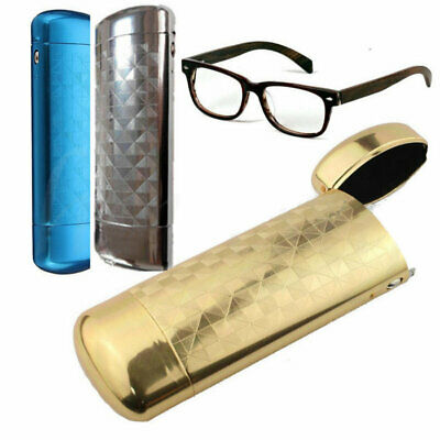 Hard Metal Eye Glasses Sunglasses Case Eyewear Protector Box Pouch Bag Portable