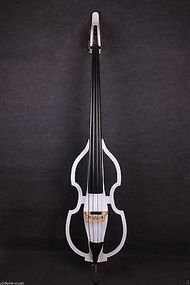 New 3/4 Electric Parted Upright Double Bass Finish silent Solid wood #yinfente
