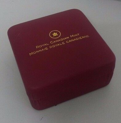Maroon Coloured Coin Display Boxes to display single coins x 7