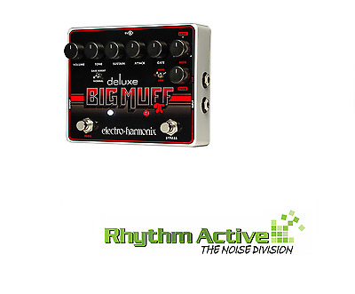 Electro Harmonix Deluxe Big Muff Pi Nyc Fuzz/distortion Guitar Effects Pedal