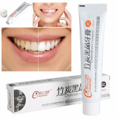 Bamboo Charcoal Black Toothpaste Teeth Whitening Cleaning Hygiene Oral Care
