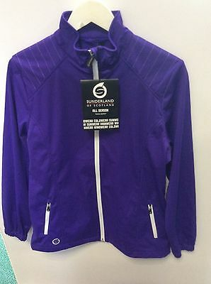 Sunderland ladies all season golfing jacket, Large, purple.