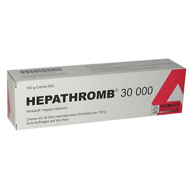 HEPATHROMB Creme 30.000 100g PZN 04090218
