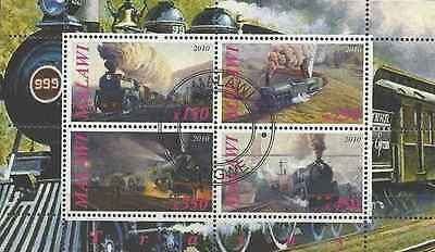 Timbres Trains Malawi o année 2010 lot 3157