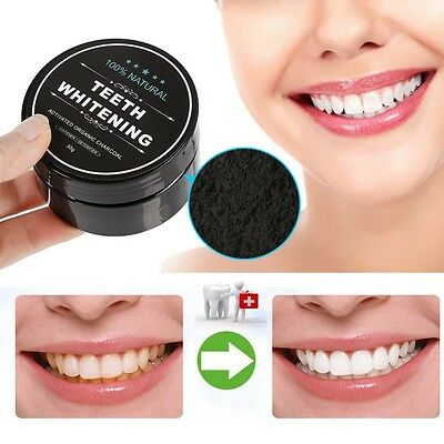 Teeth Whitening Powder Organic Activated Bamboo Charcoal Natural Teeth Whitener