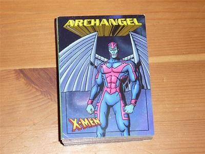 X-Men Power Rating Game Cards - Complete 50 Card Set - 1997
