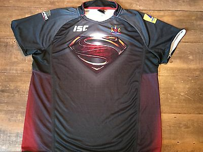 2013 Wigan Warriors Man of Steel Rugby League Shirt Adults 4XL XXXL Jersey
