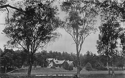 POSTCARD    BANCHORY   Inchmarlo  Cottage     RP