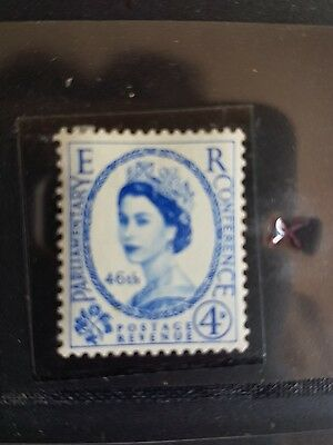 1957 4d 46th Inter-Parliamentary Union Conference mint