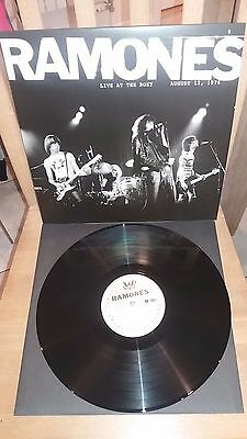 """Ramones """"Live at the Roxy August 12, 1976"""" Mint Blondie Richard Hell Sex Pistols"""
