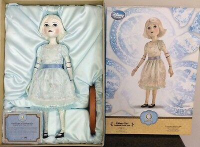 """Disney The Wizard of Oz limited Edition CHINA GIRL DOLL 19"""" 183/500"""