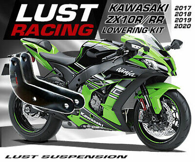 Kawasaki ZX10R /RR NINJA Lowering Kit 2016 2017 2018 2019 Lust Racing Links 30mm