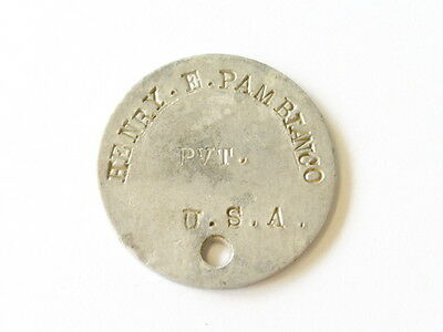 US Army  WWI, dog tag , hard to find