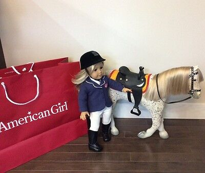 American girl doll plus Picasso Horse 2013 rare outfit, discontinued horse
