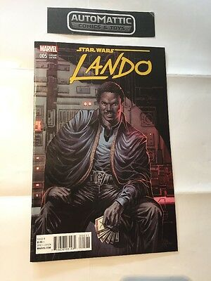 STAR WARS LANDO  #5 - 1:25 VARIANT MARVEL COMICS Mike Deodota Rare 1/25